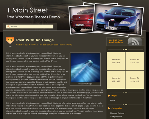 AutoBlog WordPress Theme