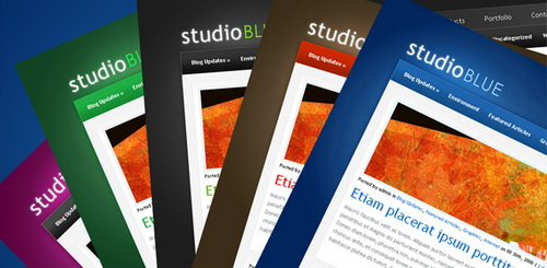 StudioBlue WordPress Theme
