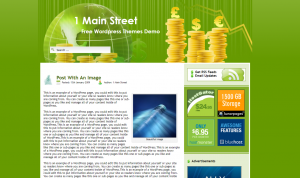 Finance Blog Free WordPress Theme