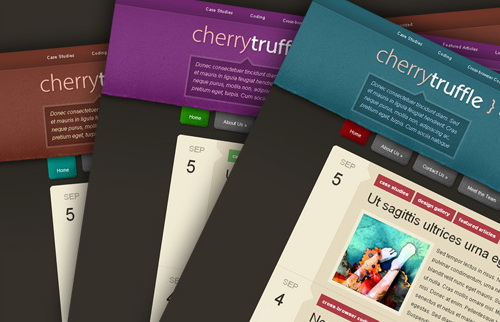Color Options - Cherry Truffle WordPress Theme