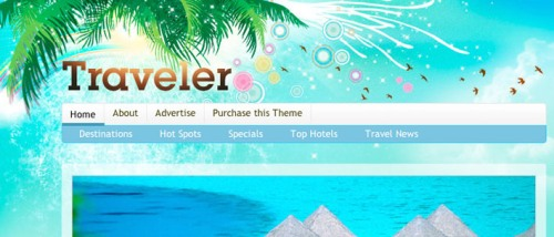 Traveler Magazine WordPress Theme