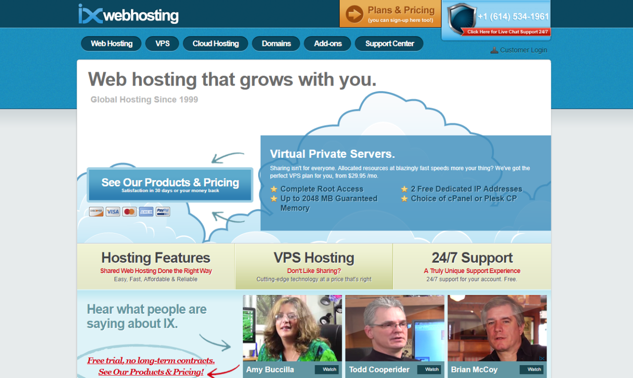 Read more about the article IX Web Hosting